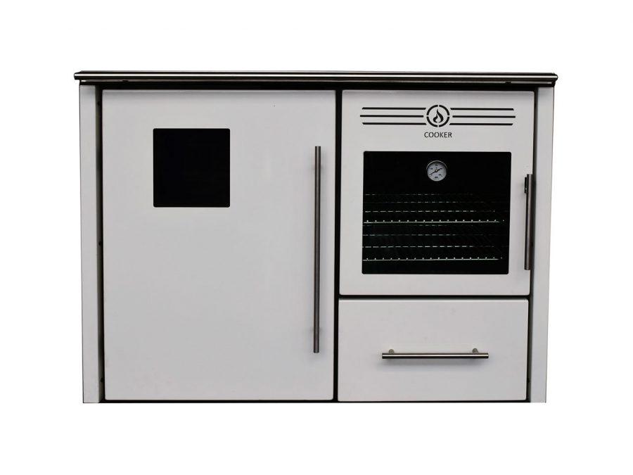 Cocina de le a albicalor para radiadores con horno 31 6 - Cocinas con horno de lena ...