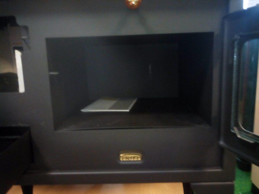Cocina de le a con horno prity 10 kw 75 m2 sercatec albacete s l - Cocina con horno de lena ...