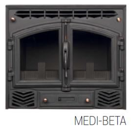 INSERTABLE DE LEÑA SOLO AIRE MODELO MEDI-BETA 10 KW (75M2)