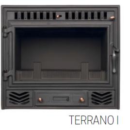 INSERTABLE DE LEÑA SOLO AIRE MODELO TERRANO I 10 KW (75M2)