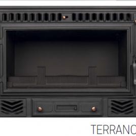 INSERTABLE DE LEÑA SOLO AIRE MODELO TERRANO II 14 KW (105 M2)