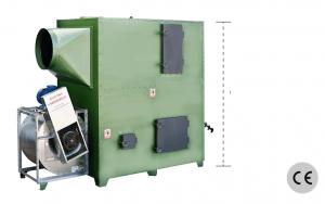generador de aire caliente policombustible Sistemas tomas