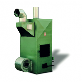 Generador de aire caliente a leña modelo L-70