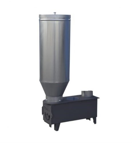 estufa biomasa policombustible PRIMAVERA sistemas tomas