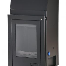 Insertable de leña Aquaflam 12 kw (90 m2)
