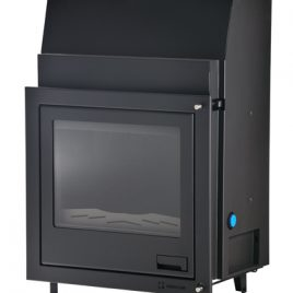 Insertable de leña Aquaflam 25 kw (190 m2)