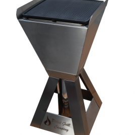 Grill de asados con pellet modelo CAMPING