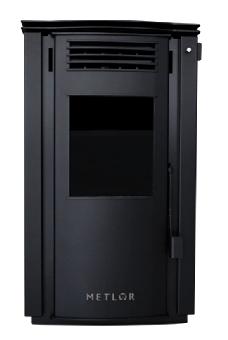 Estufa de leña con ventiladores 9,2 kw (70 m2) mod.Lis ECO
