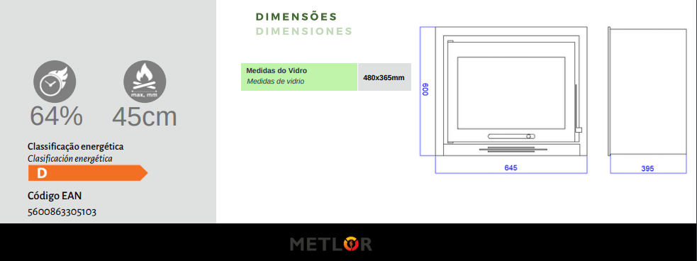 MEDIDAS LD7RC