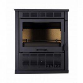 Estufa de leña con ventiladores 9,5 kw (70 m2) mod. Bell