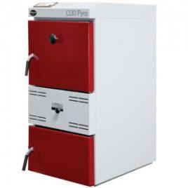 Caldera a Leña de gasificación  CLPyro 30 llama invertida  (30 Kw)