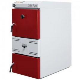 Caldera a Leña de gasificación CLPyro 36 llama invertida (36 Kw)