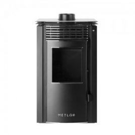 Estufa de leña con ventiladores 9,2 kw (70 m2) mod.Lis