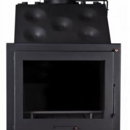 Insertable de leña para radiadores minimalista (38,7 kw) 270 m2