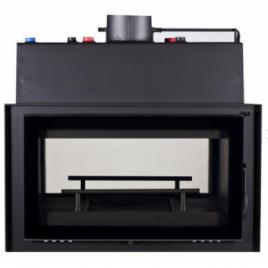 Insertable de leña para radiadores cristal serigrafiado doble cara (20,4 kw) 140 m2