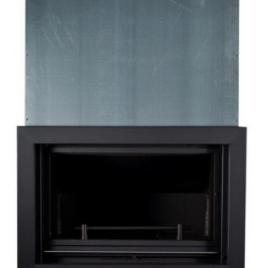 Insertable de leña para radiadores puerta en guillotina (38,7 kw) 275 m2