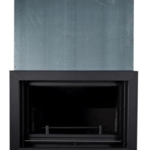insertable de leña guillotina calefaccion central