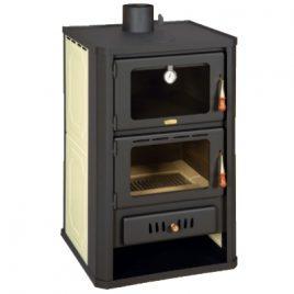 hidroestufa de leña con horno calefaccion