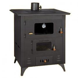 Cocina de leña con horno prity 14 kw (105 m2)