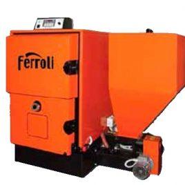 Caldera de Biomasa Ferroli ARES 60 Kw