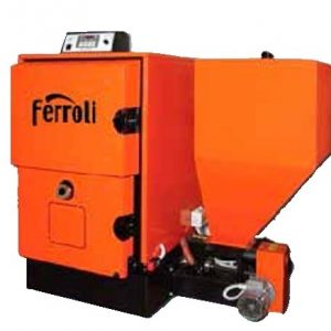 caldera biomasa ferroli ares