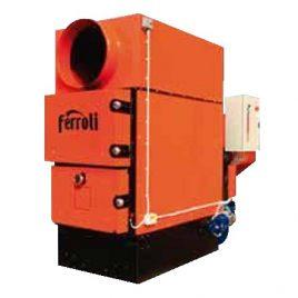 Generador de aire caliente a Biomasa Bemus (130 kw) (pellet,orujillo y cascaras)