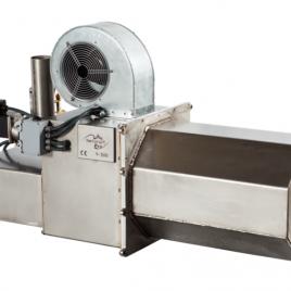 Y-500 LA (50-550 kw ) con limpieza automática y cuadro control UNITRONICS