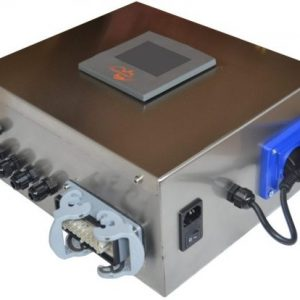 cuadro control quemador policombustible biomasa