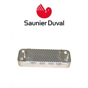 intercambiador de placas caldera saunier duval