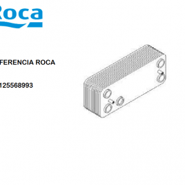 INTERCAMBIADOR 20 PLACAS NOVADENS/PLATINUM 28/28-33/33F