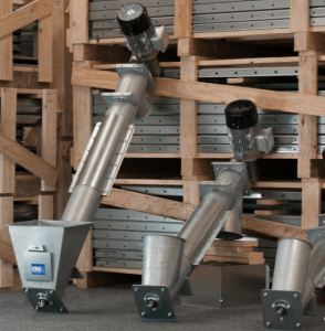 sinfines para transporte biomasa