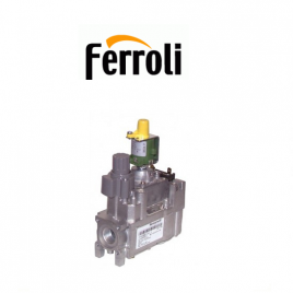 valvula de gas caldera ferroli