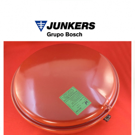 VASO EXPANSION JUNKERS ORIGINAL DOBLE CONEXION 1/2″ y 3/4  11L (8715407168)