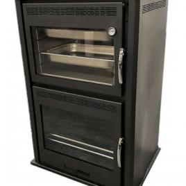hidroestufa de leña con horno para radiadores