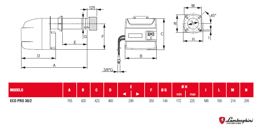 medidas eco Pro 30 -2 (sercatec)