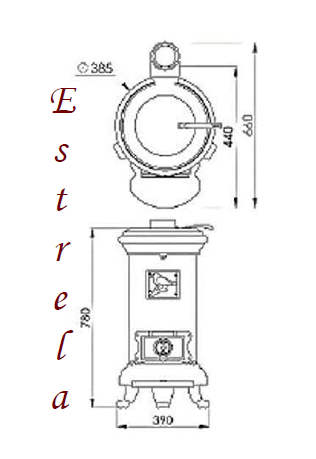 medidas estrella (sercatec)