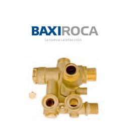 Válvula con by-pass 3 vías BAXIROCA 125569604 (CALMTL)