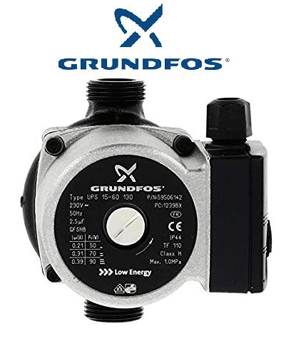 BOMBA GRUNDFOS UPS 15-60 130mm (SERCATEC)