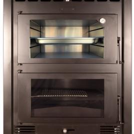Horno Albicalor con ventiladores 15 kw (100 m2) horno inox