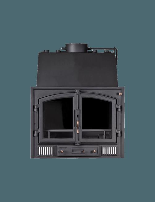 insertable de leña conexion radiadores