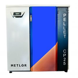 Caldera de pellets Metlor modelo CP25  (25kw) 200m2