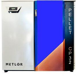 Caldera de pellets Metlor modelo CP32 (33kw) 230m2