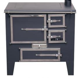 Cocina de leña Metlor (9,6 kw) 75 m2 (ME07)