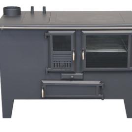 Cocina de leña Metlor (9,6 kw) 75 m2 (ME40)