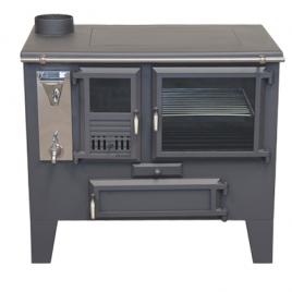 Cocina de leña Metlor (9,6 kw) 75 m2 (ME50)