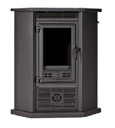 Estufa de leña con ventiladores RINCON SR910 8,3 KW (60m2)