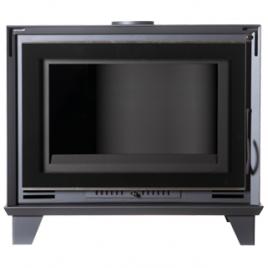 Estufa de leña con horno modelo X2 7,5 Kw (55 m2) (SIN VENTILADORES)