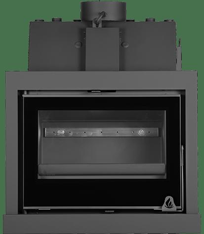 insertable de leña radiadores solrak