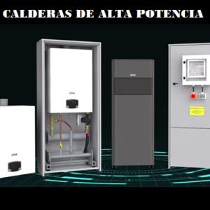 Calderas de condensación Alta potencia