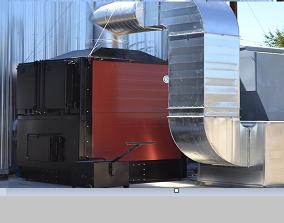 Generadores de aire caliente de biomasa